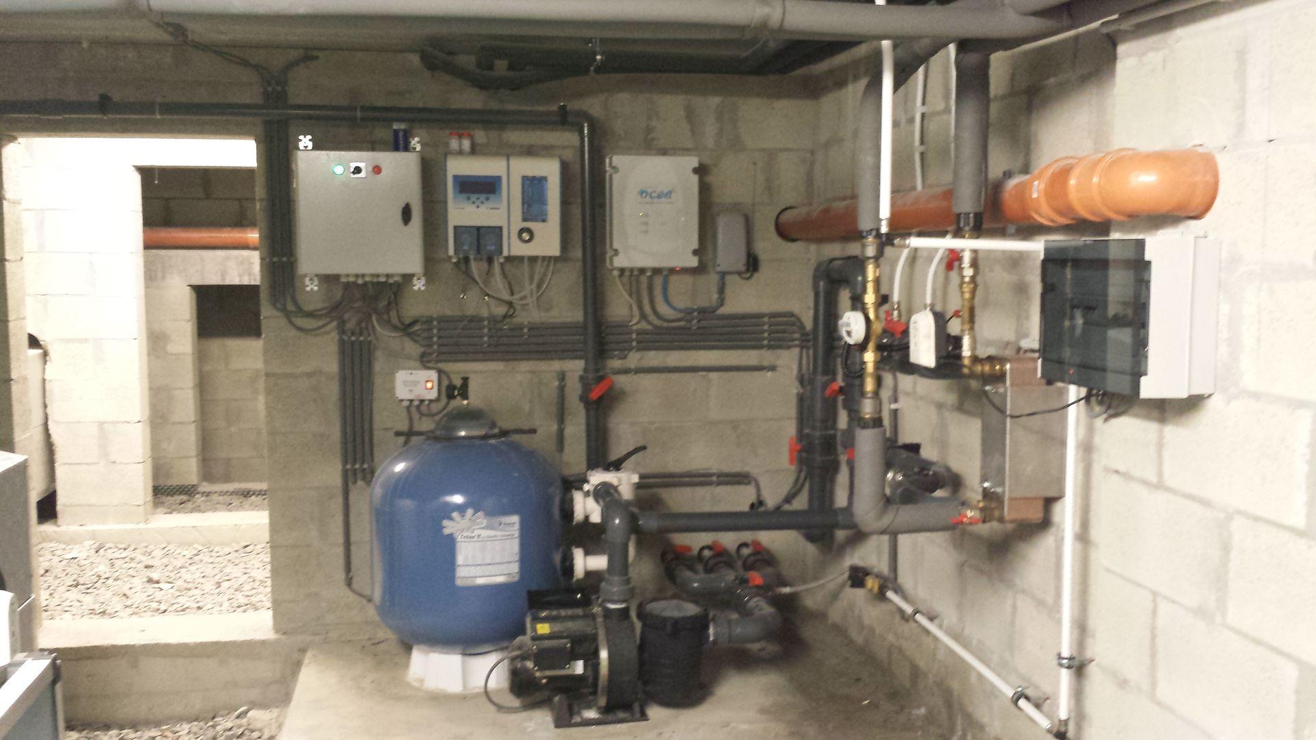 Mat riel et syst me de filtration pour piscine actibuild for Materiel filtration piscine