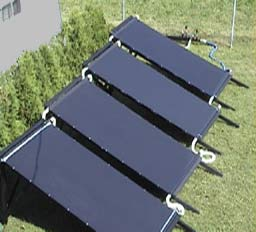 Chauffage pour piscine panneaux solaires actibuild - Fabriquer panneau solaire piscine ...