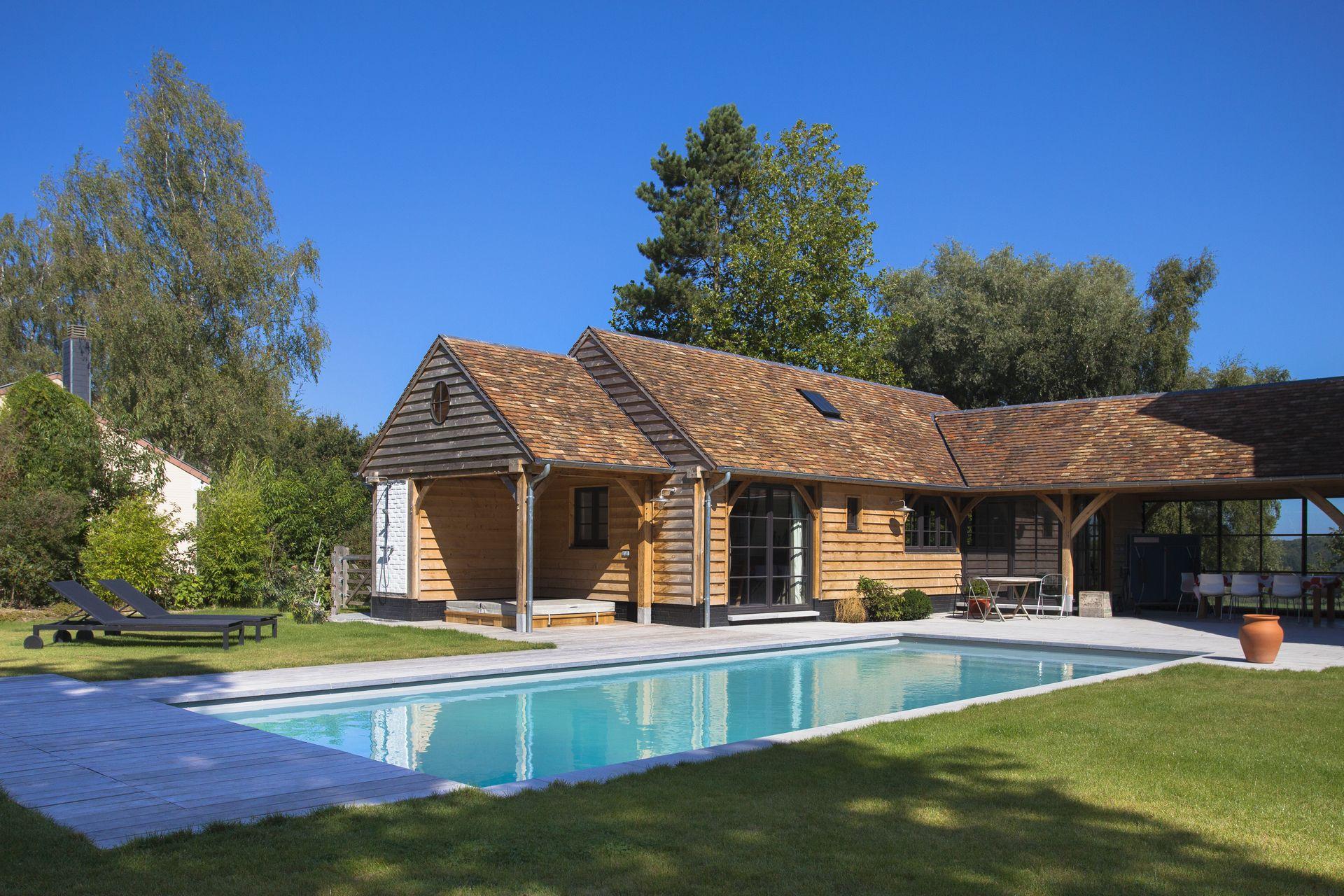 aménagement pour la piscine: poolhouse | actibuild