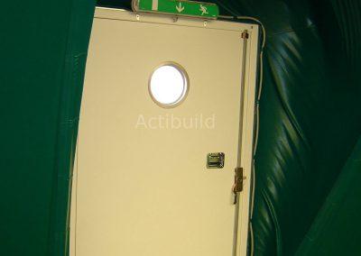 accès d'une bulle Technologie pour bulle/dôme gonflable